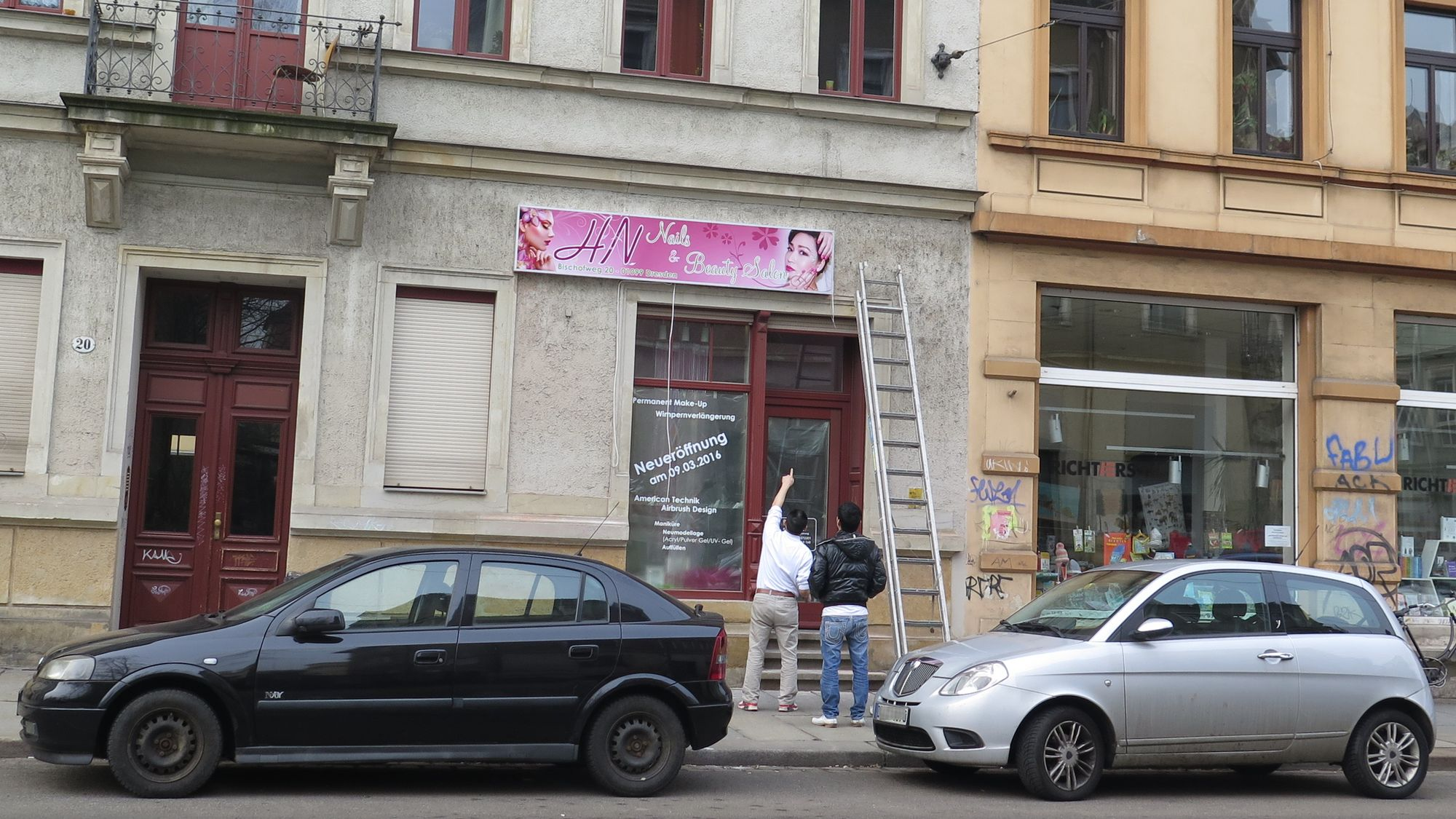 Neu auf dem Bischofsweg: HN Nails & Beauty Salon