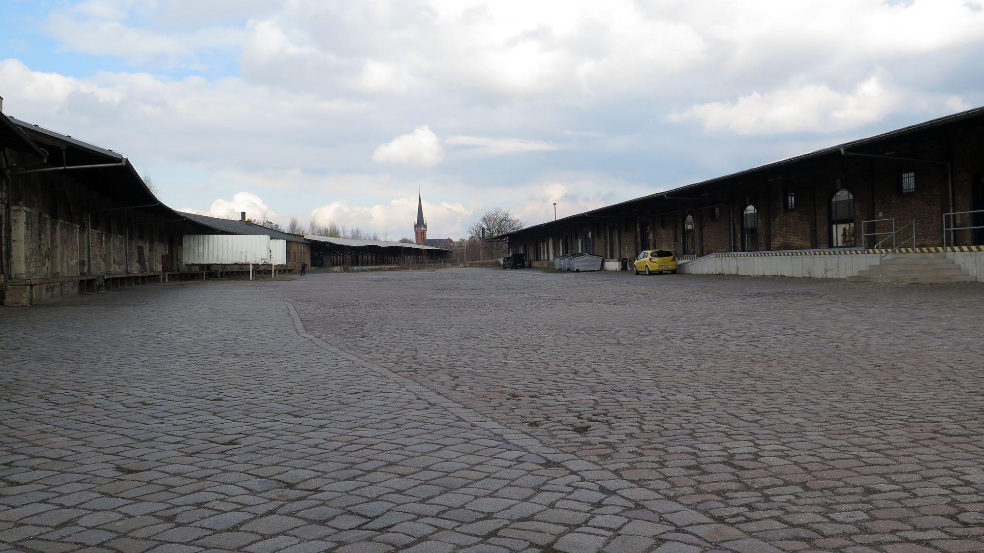 Brache am Alten Leipziger Bahnhof