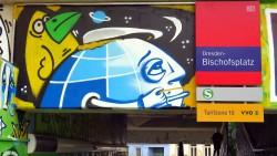 Bischofsplatz-S-Bahn-Streetart