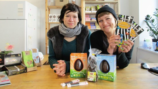 Veganversand Kokku: Scarlett und Manja vom Vegan-Online-Versand Kokku