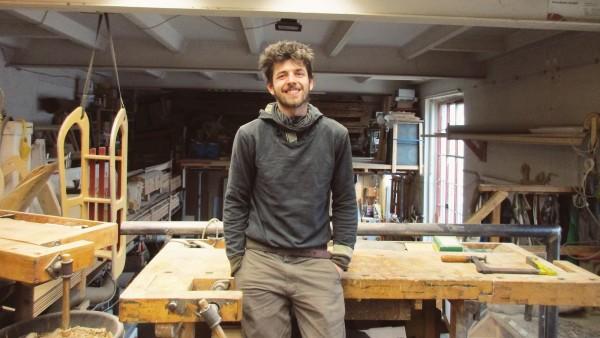 Clemens Zichner von der Holzhilfe Dresden