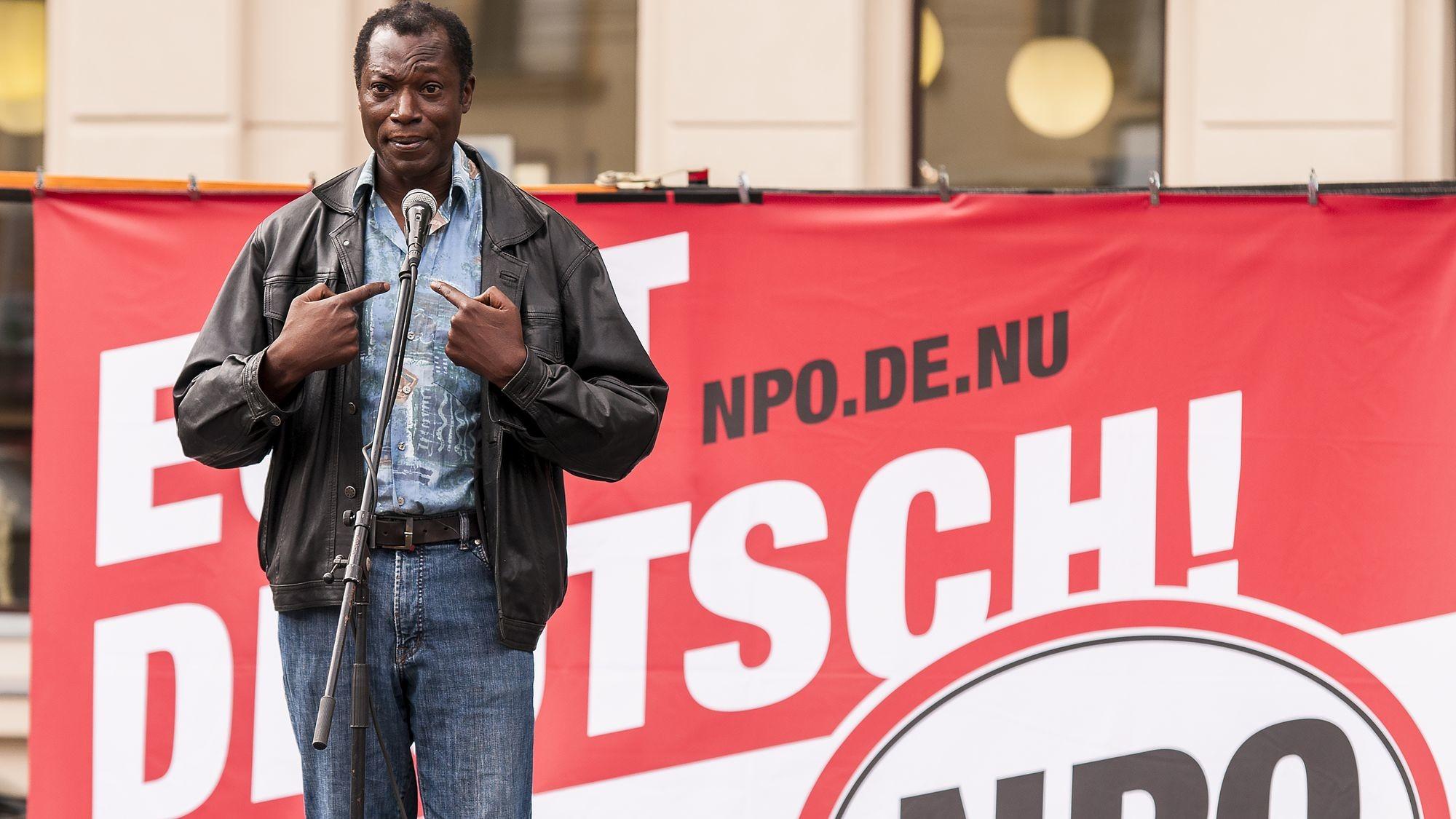 Der Hauptdarsteller Aloysius Itoka - Foto: PR/Patrick Meischner