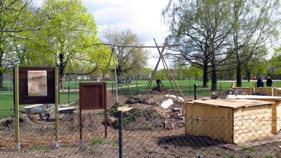 Stadtgärtnern: Neuer Stadtgarten, Einweihnung am Sonnabend