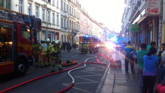 Der Brand-Herd befand sich im Dürüm-Kebab-Haus.