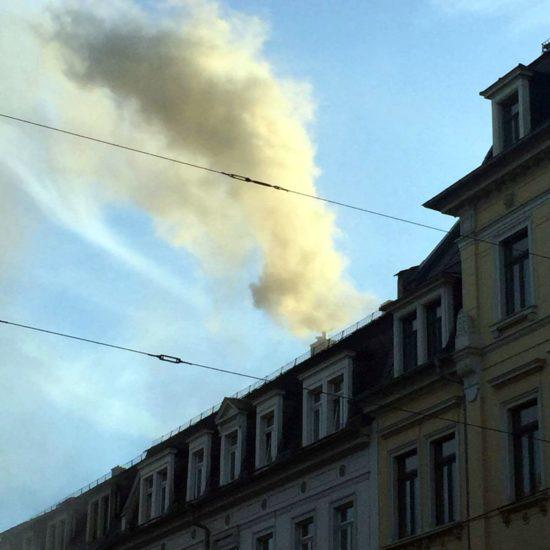 Über die Lüftung verbreitete sich der Rauch aus der Küche.