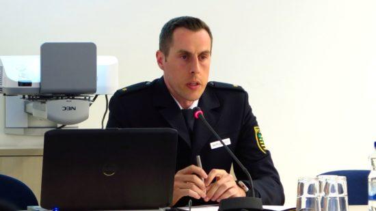 Revierleiter Polizeirat Matthias Imhof