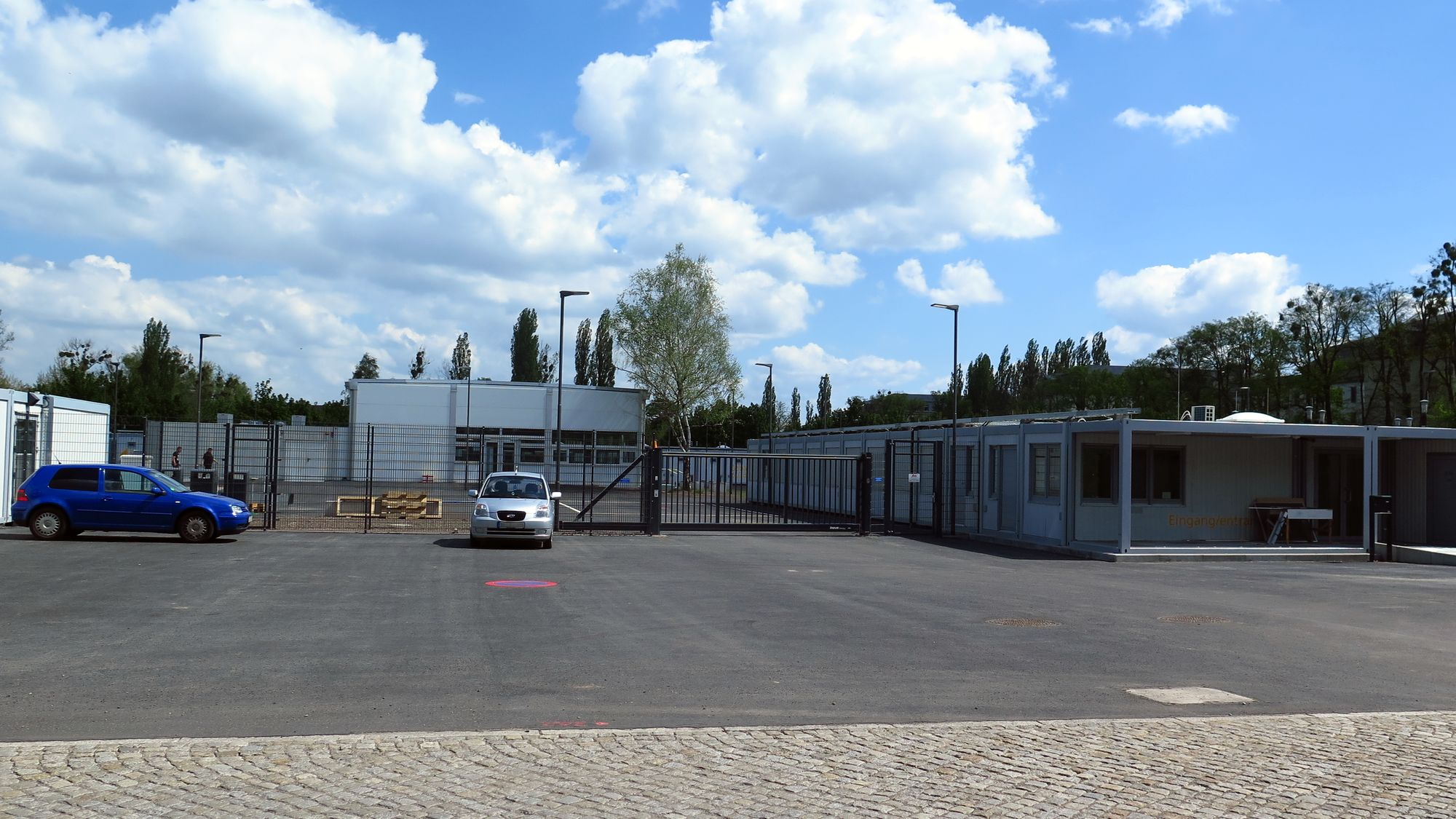 Container-Dorf an der Stauffenbergallee