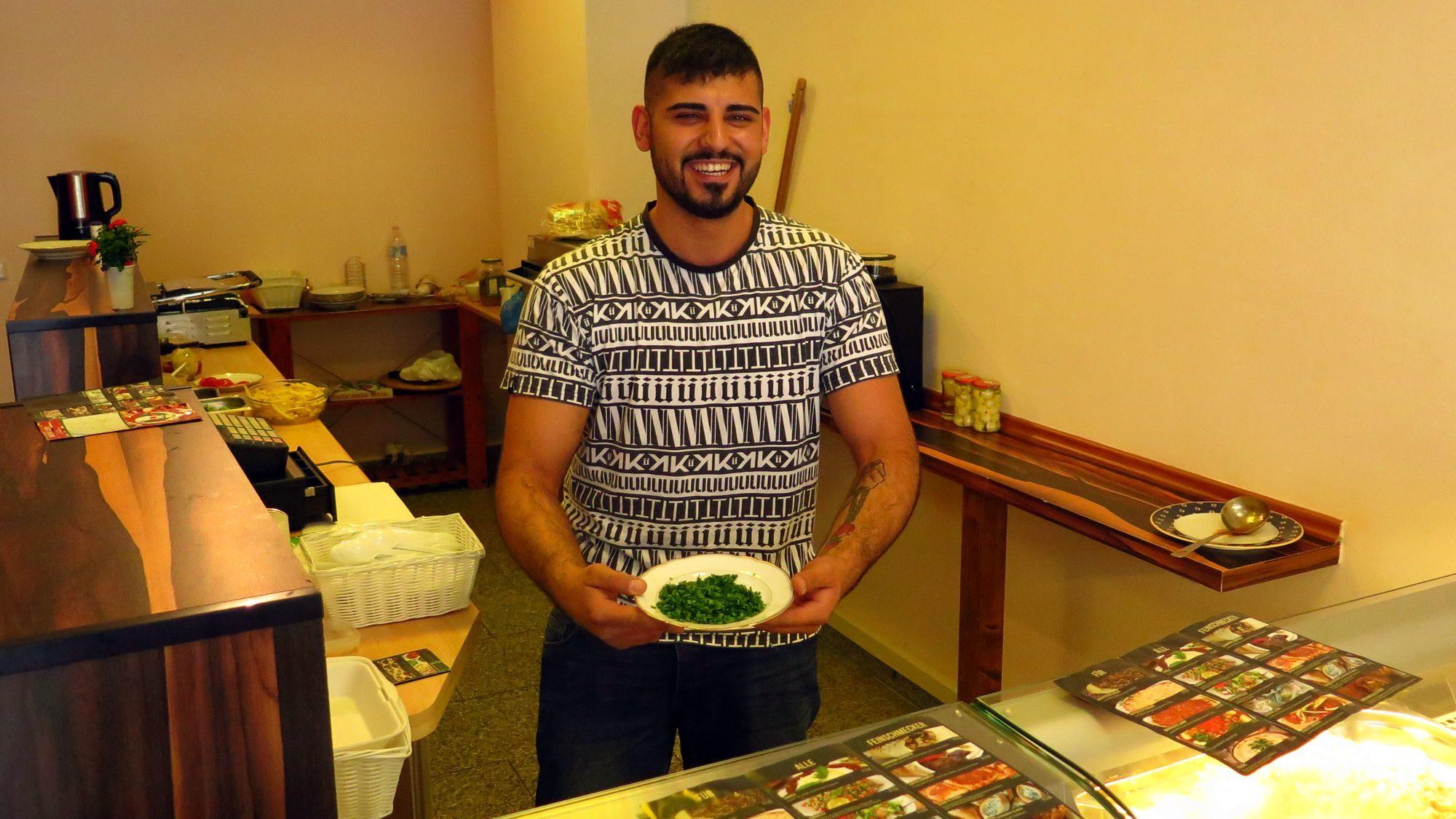 Küchenchef und Top-Verkäufer: Nasser Ramlawi