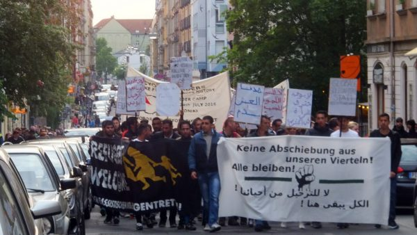 Demo gegen Abschiebungen