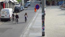 Seit gestern ist wieder Parken verboten auf der Alaunstraße.