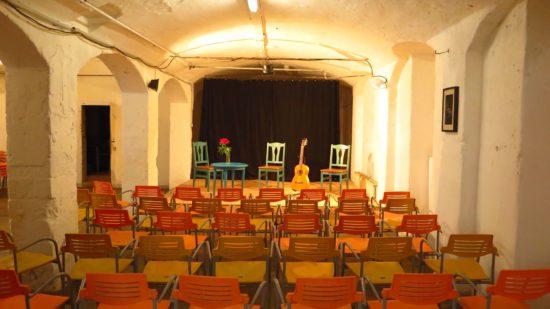 Der Konzertsaal in der Alten Fabrik