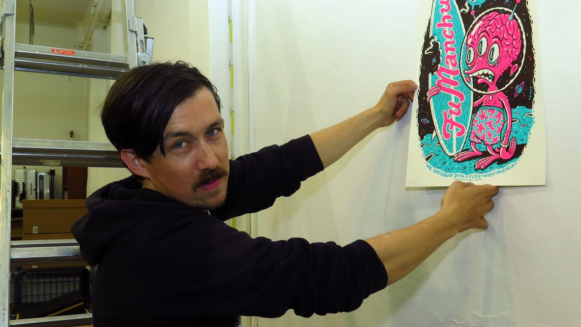 Mini Colored Gigs: Gig-Poster-Künstler Michael Hacker