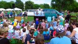 Kinderfest auf dem Alaunplatz