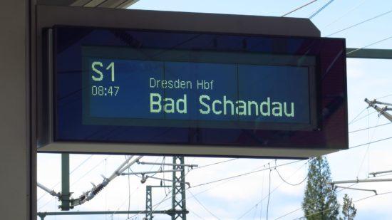 Nächstes Ausflugziel: Bad Schandau