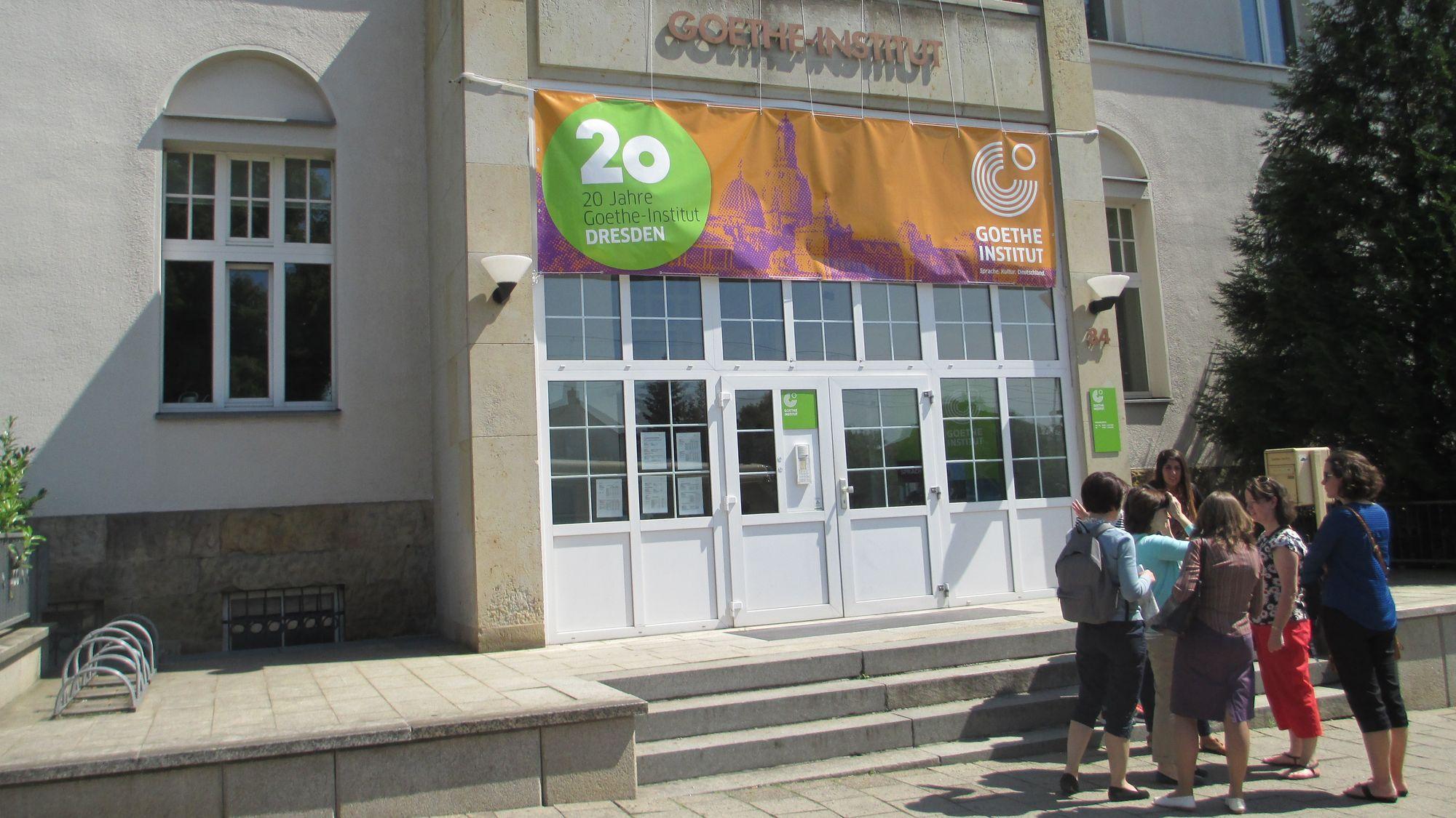 Das Goethe-Institut in Dresden feiert dieses Jahr 20. Jubiläum