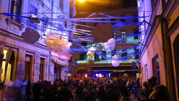 Das bunteste Haus der BRN mit den meisten Luftballons.