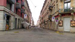 Geputzte Alaunstraße