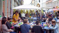 Frühstück auf der Louisenstraße