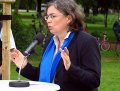 Umweltbürgermeisterin Eva Jähnigen (Grüne)