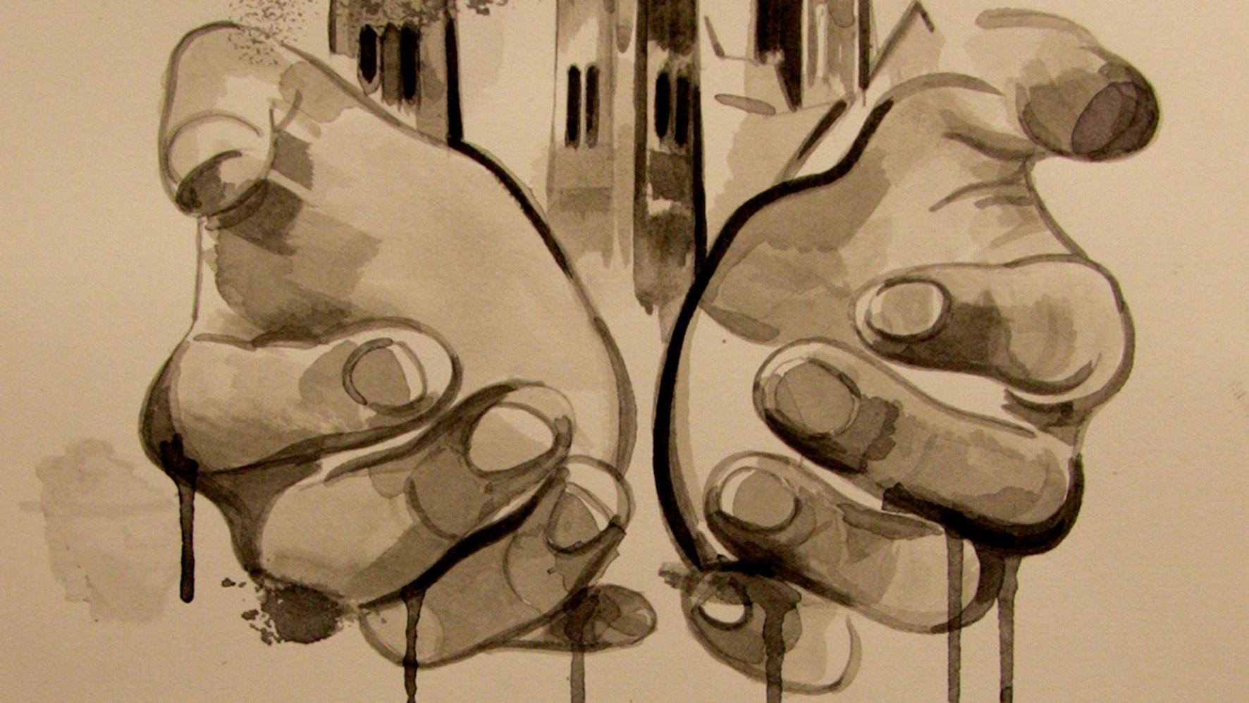 "Cameron Tauschke ""Gothic Fingers"" Ausschnitt"