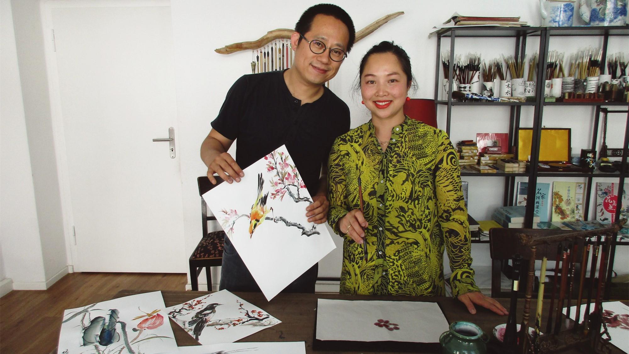Rao Fu und Yini Tao vom Shuado-Studio.
