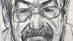"""""""Günter Grass"""" gezeichnet von Hubertus Giebe - Ausstellung im Lesezeichen"""