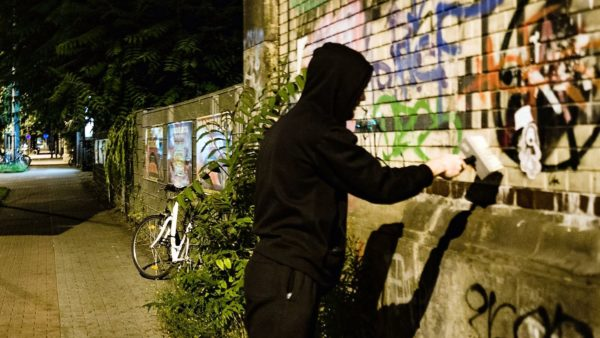 Sehr spezielle Street-Art