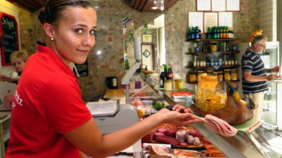 Fleischfachverkäuferin Lisa