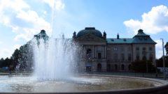 Sommer hinterm Palais