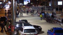 Scheunevorplatz bei Nacht - Foto: Archiv