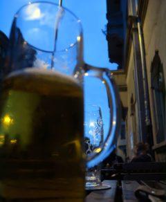 Faßbier - halber Liter für 3,10 Euro