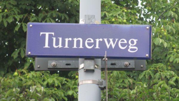 Der Turnerweg, benannt nach dem Turnverrein Dresden Neu- und Altstadt