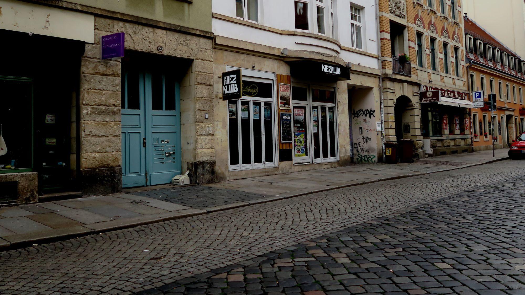 Auseinandersetzung Louisenstraße: Der Ort des Geschehens: Louisenstrasse 55