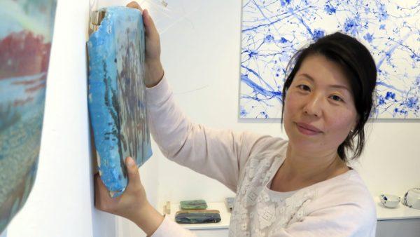 Künstlerin Keun Woo Lee