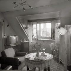 Wohnzimmer der Rentnerin Rosel K.