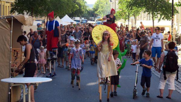 Kinderumzug zum Hechtfest-Start