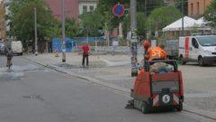 Gemeinsam mit der Stadtreinigung hieß es: Sauberer unsere Neustadt