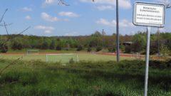 """Direkt neben dem Militärsportplatz ist das Wohnviertel """"Albertstadt Ost, Jägerpark"""" geplant."""