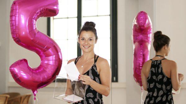 Lädt mit Tombola zum 5. Geburtstag - Claudia Seidel