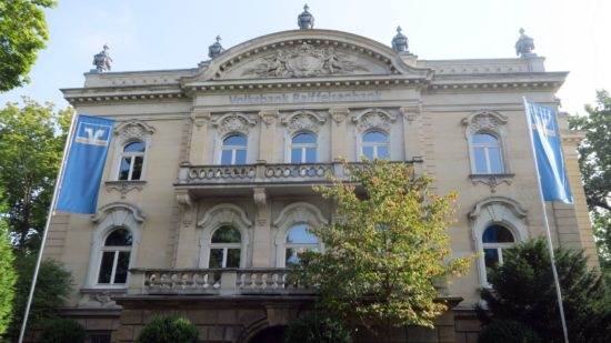 Die Villa Eschebach am Albertplatz.