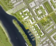 Lageplan Hafencity. Quelle: USD Immobilien GmbH