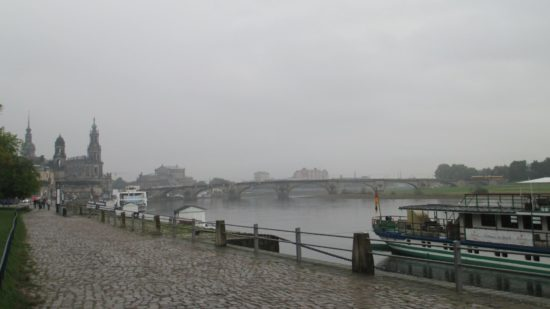 Canalettoblick auf die Augustusbrücke