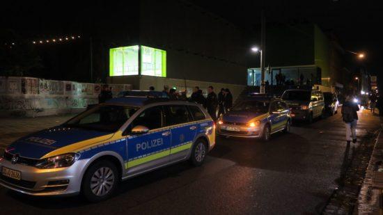 Jahresrückblick: Polizeieinsatz auf der Alaunstraße - Foto: Archiv
