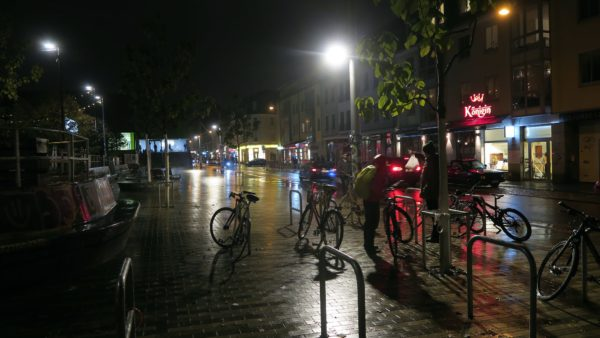 Alaunstraße bei Nacht - Foto: Archiv