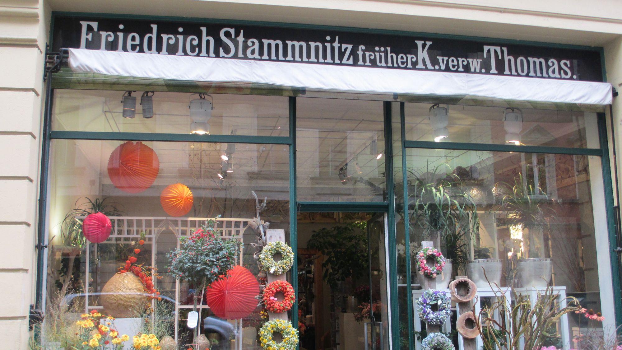 Blumen Stammnitz ist der älteste Blumenladen Dresdens
