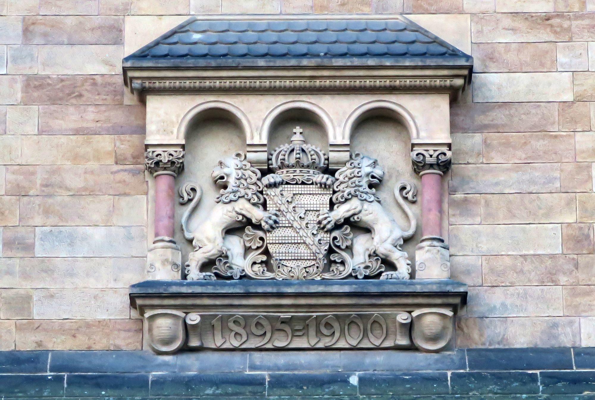 Laut Inschrift erbaut zwischen 1895 und 1900.