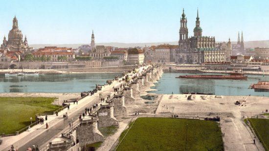 Die Augustusbrücke: ein historischer Flickenteppich