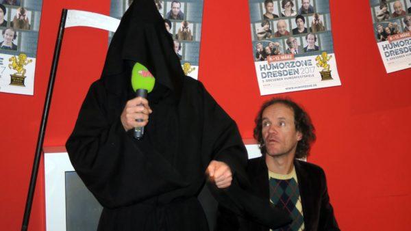 der Tod und Olaf Schubert