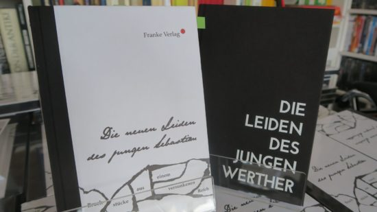 Die ersten beiden Bücher sind schon erschienen.