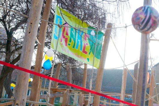 Neue Kletterinsel für die 30. Grundschule
